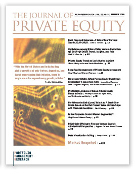 Cover image of The Journal of Private Equity