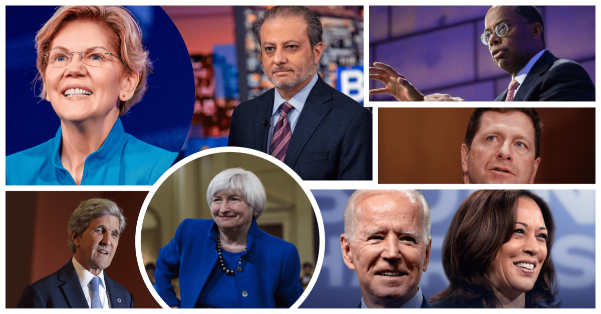 What About Beta?   An Investors First Agenda for the Biden Administration