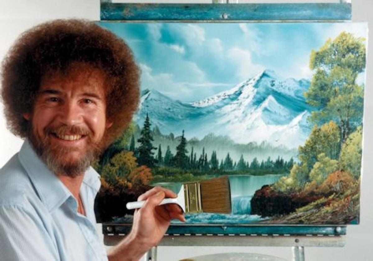 What If Bob Ross Was a Portfolio Manager?